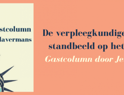 De verpleegkundige verdient een standbeeld op het Binnenhof- Gastcolumn door Jelle Havermans