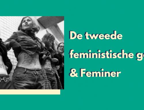 Lesje geschiedenis: de tweede feministische golf en Feminer