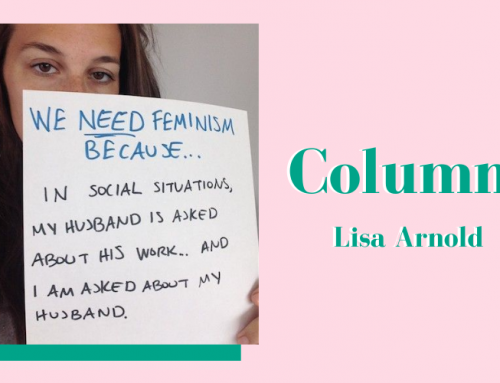 In een rechte lijn vooruit – Column Lisa Arnold