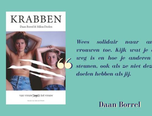 """Daan Borrel: """"Wees solidair naar andere vrouwen toe"""""""