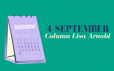 4 september – Column Lisa Arnold